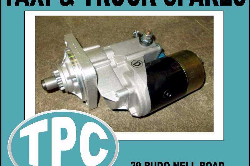 NISSAN Nissan  PD6 STARTER - New Replacement Parts Available At TPC