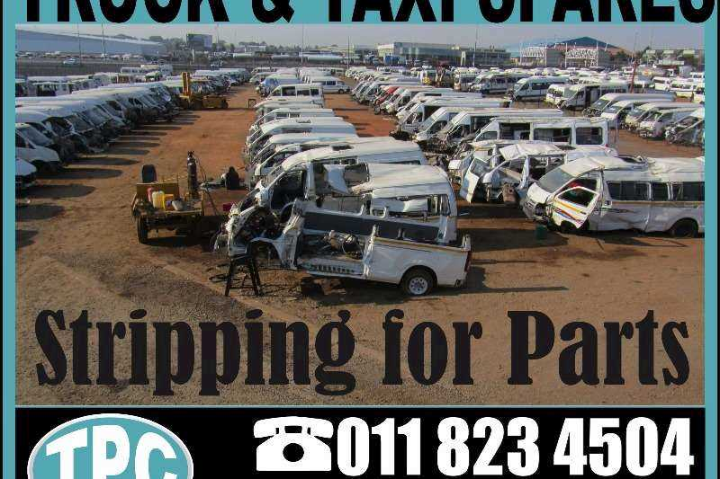 NISSAN NV 350 Taxi Stripping for Replacement Spares