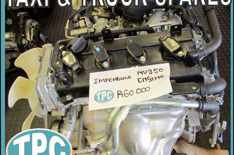 NISSAN NV350 Impendulo Replacement ENGINE - Quality Used Parts At TPC
