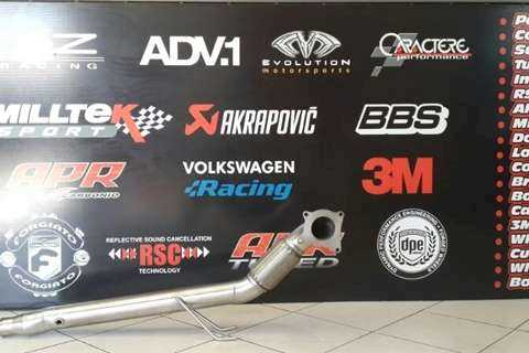 Rogue Performance Exhausts SA SPECIAL Downpipe & Software Combo