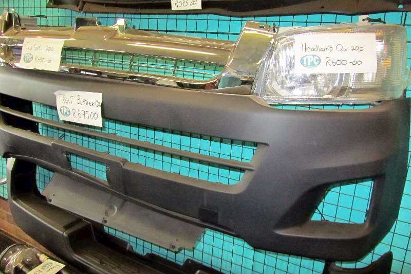 TOYOTA QUANTUM Headlamps, Bumper, Grill And More Replacement Parts