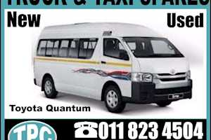 TOYOTAQUANTUMSouth African Flag Sticker Set For Your Taxi & Replacement Parts Etc