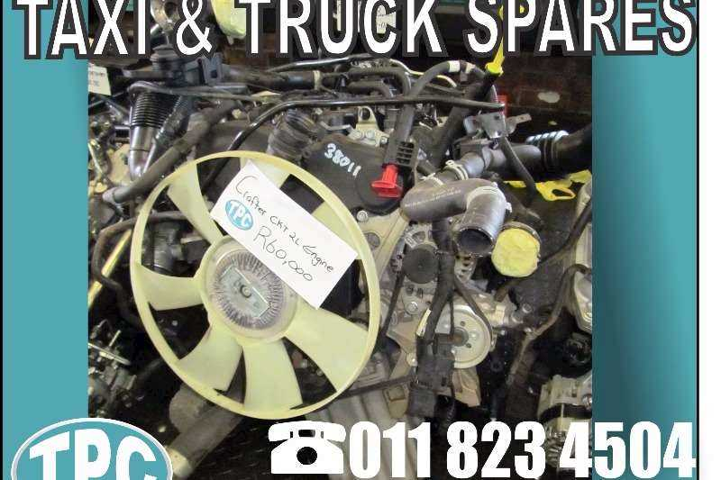 VOLKSWAGEN CRAFTER CKT 2lt ENGINE For Sale - Quality Used Parts At TPC