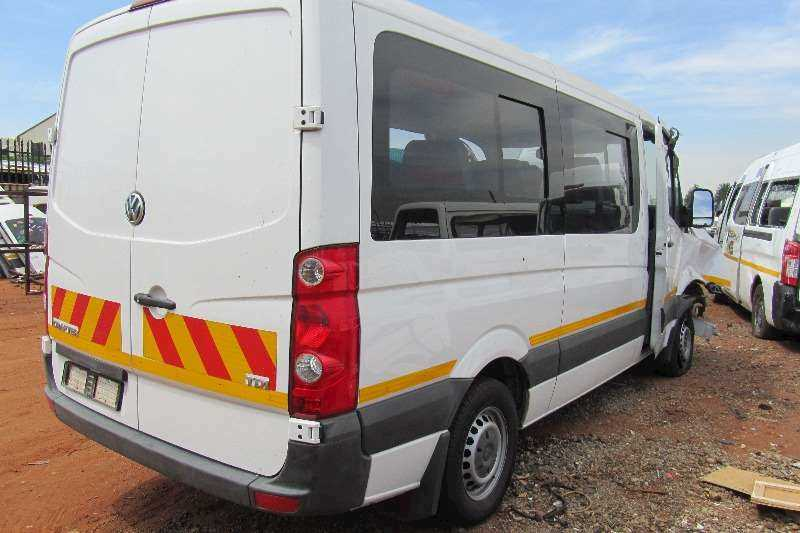 VOLKSWAGEN CRAFTER P/V TDI -Stripping For Replacement PARTS & SPARES:Body Panels,Doors,Lamps Etc