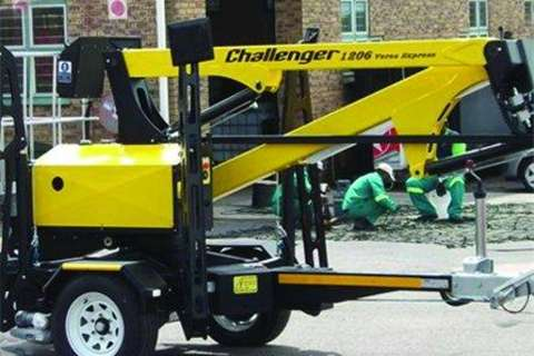 12m Tow behind aerial pla Advertise trailer