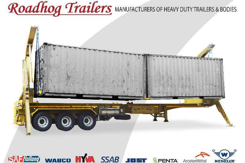 Advertise trailer 45 Ton Container Side Loader 2017