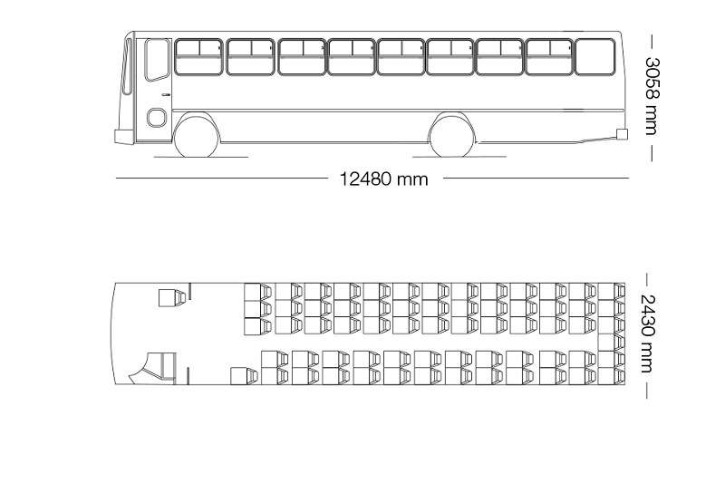 Hino 65 seater HINO 65-Seater Commuter Bus Buses