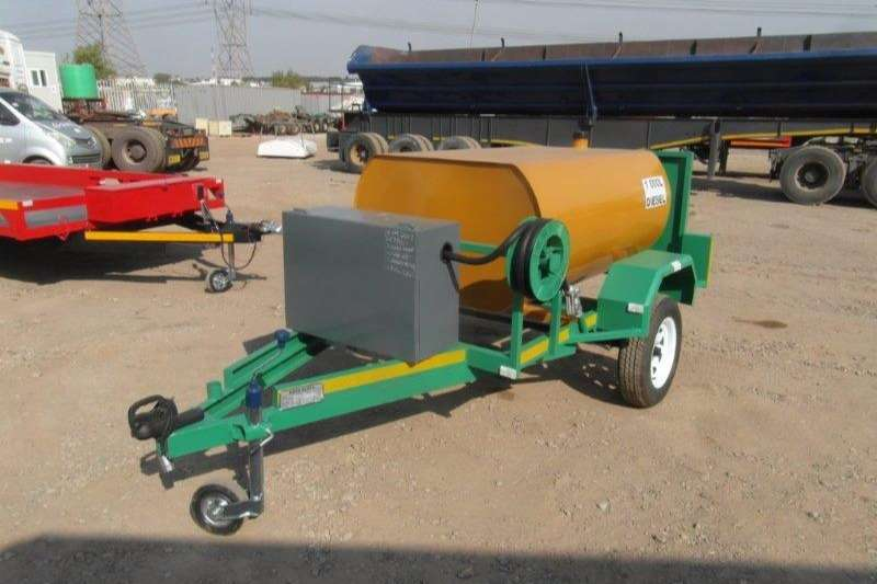 1000 Litres Diesel Bowzer Trailer With Pump And Me Diesel bowser Trailer