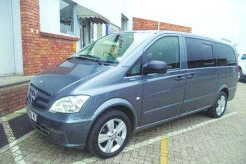 Mercedes Benz Vito 122 CDI Shuttle- LDVs & panel vans
