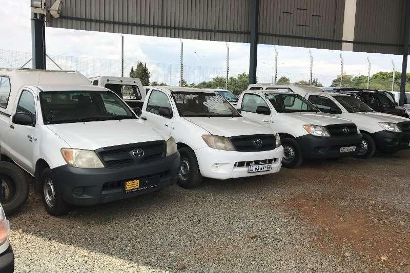 Toyota Hilux LDVs & panel vans