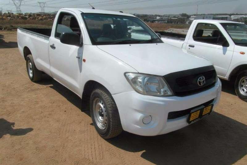 LDVs & Panel Vans Toyota Hilux 2.5 D4D 0