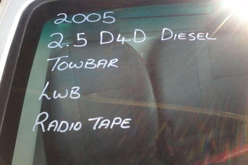 Toyota Hilux 2.5 D4D L/B Single cab LDVs & panel vans