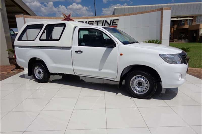 Toyota Hilux 2.5D4D Single Cab LDVs & panel vans