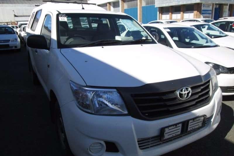 LDVs & Panel Vans Toyota Toyota Hilux 2.0 VVT Bakkie 2012