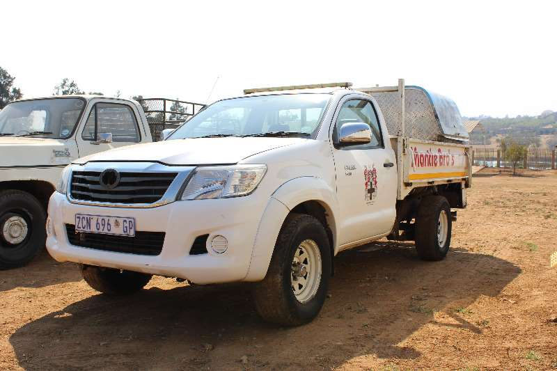 LDVs & Panel Vans Toyota Toyota Hilux 2.5 d4d Single cab (non runner) 0