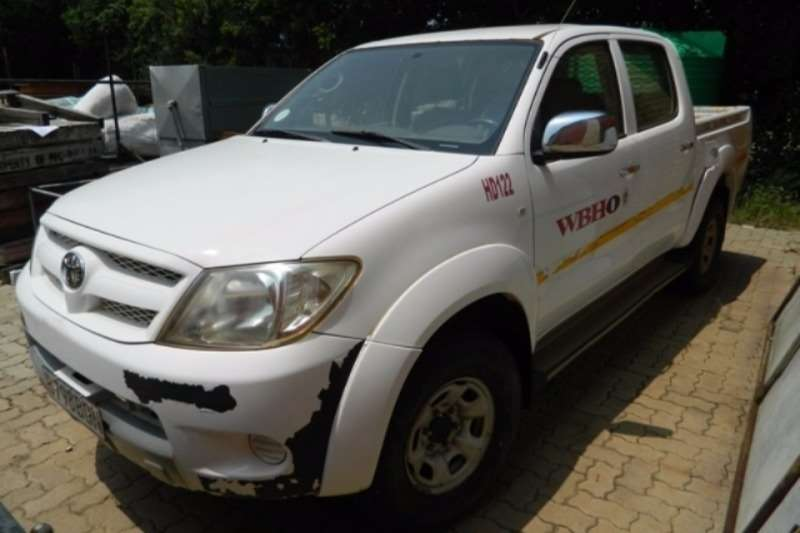 Toyota Toyota Hilux 2.5D4D Double Cab 4x4 LDV LDVs & panel vans