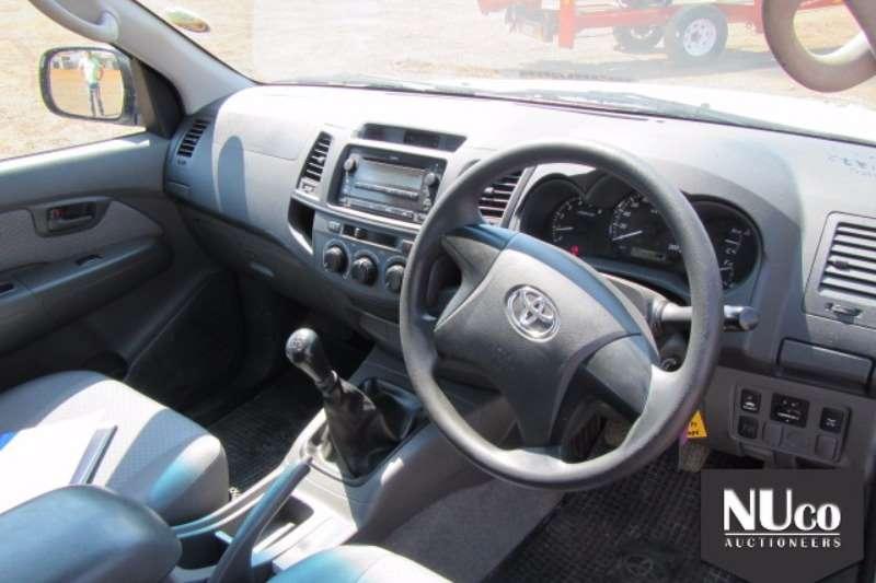 Toyota TOYOTA HILUX 2.5D4D SINGLE CAB LDV LDVs & panel vans