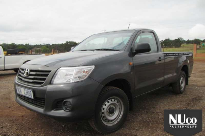 LDVs & Panel Vans Toyota TOYOTA HILUX 2.5L SINGLE CAB LDV 2016