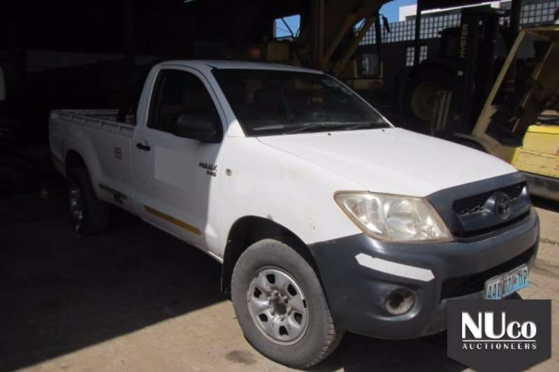 LDVs & Panel Vans Toyota TOYOTA HILUX D4D 4X4 SINGLE CAB LDV 0