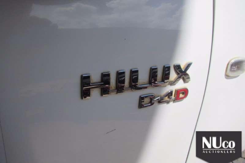 Toyota TOYOTA HILUX D4D 4X4 SINGLE CAB LDV LDVs & panel vans