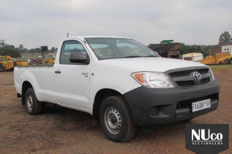 LDVs & Panel Vans Toyota TOYOTA HILUX VVT-I SINGLE CAB LDV 0