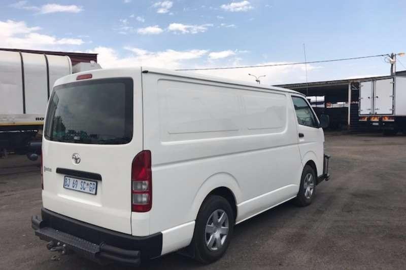 Toyota TOYOTA QUANTUM 2.5D4D SWB LDVs & panel vans