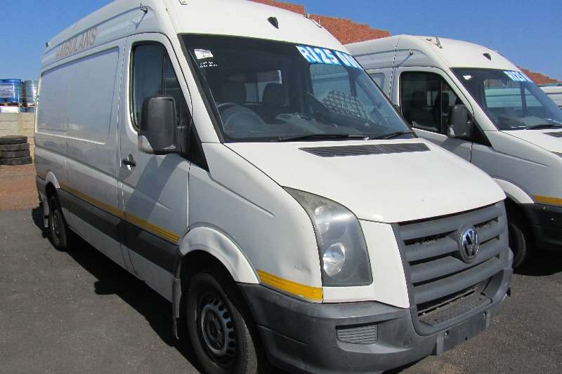 LDVs & Panel Vans VW CRAFTER 35 80 F/C P/V - Runner 2010