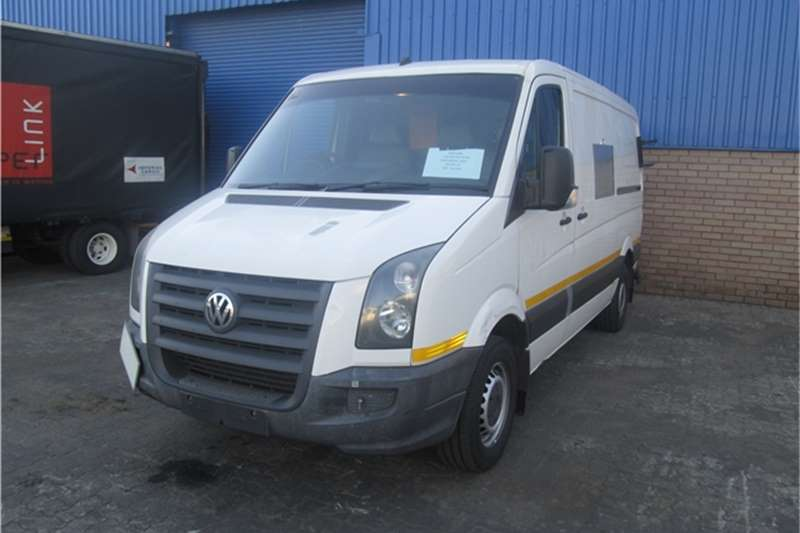 LDVs & Panel Vans VW Crafter LT35 TDi 0