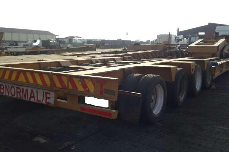 Martin Used 4 Axle Lowbed and Double Axle Dolly Available Lowbeds