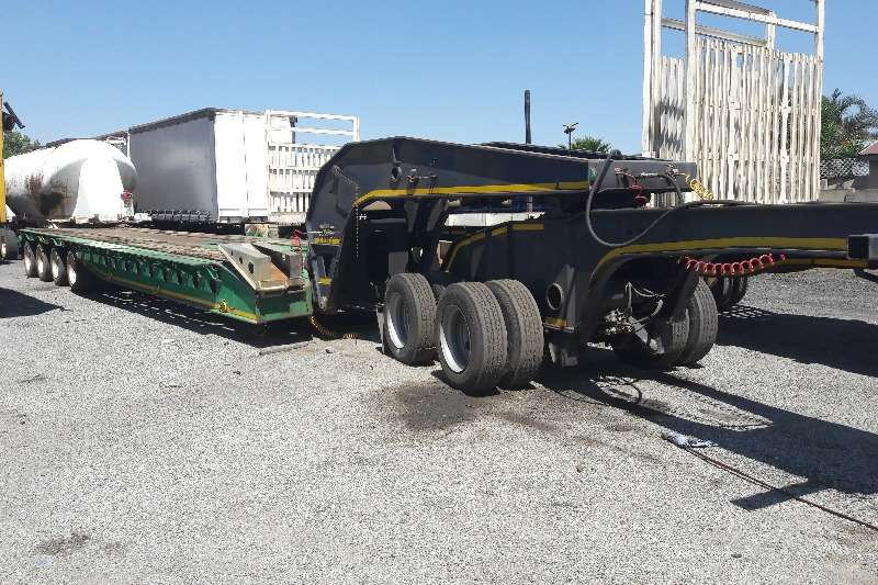 Used Afrit 4 Axle 75 Ton Lowbed Available Lowbeds