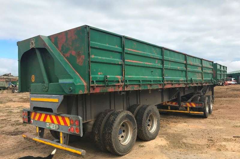 Top Trailer Mass side Tipper 45 Cube Maxi side trailer