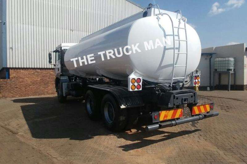 MAN 2005 TGA 33.410 6X4 RIGID 16000L WATER TANK BODY Rigid - tanker