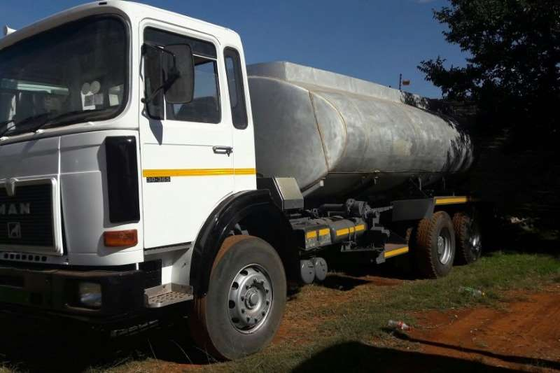 MAN Used MAN 30-365 Rigid with 18 000LT Tank Available Rigid - tanker