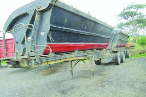 SA Truck Bodies Side Tipper-