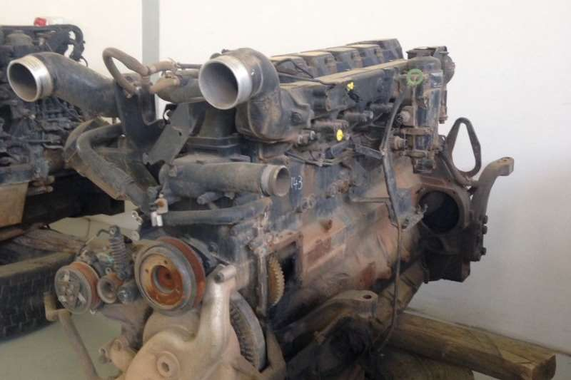 MAN Engine D2866 LF32 Stripping for Spares