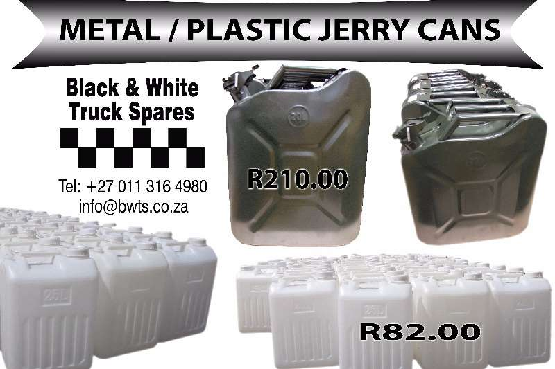 Spares Other Jerrycan 20 Litre meta / Jerry can 25Lt plastic 0