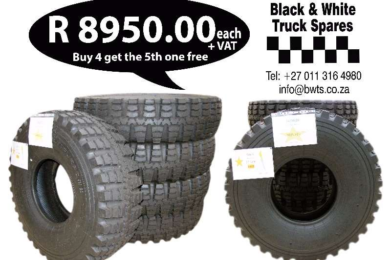 Other Tyres 14.00R20 Bush Radial Spares
