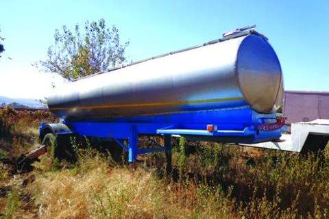 12 000L Stainless Steel- Trailers