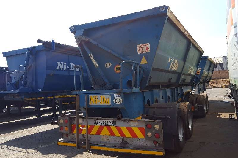 Afrit 2008 AFRIT SIDETIPPER 45cube FULLY REFURBISHED Trailers