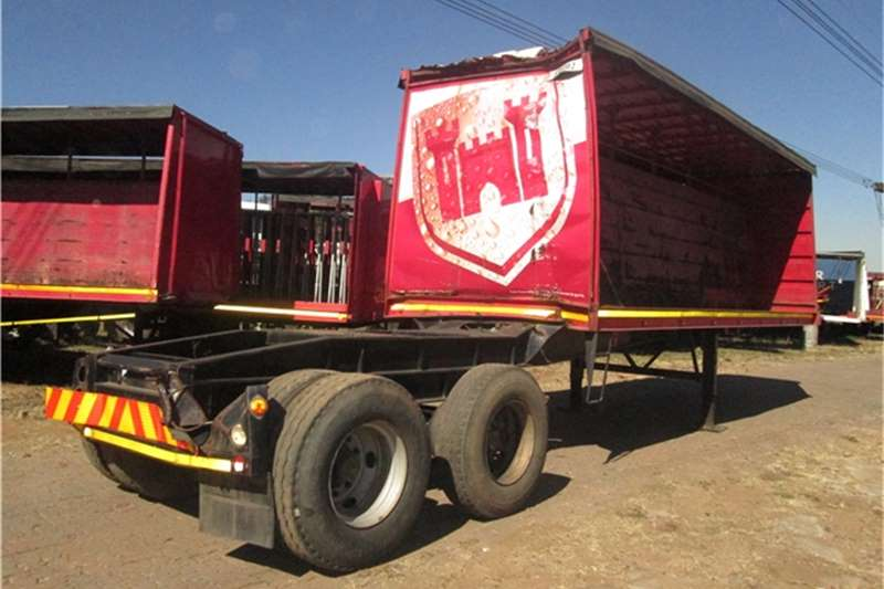 Afrit 7.3m Beverage Tautliner  Trailers