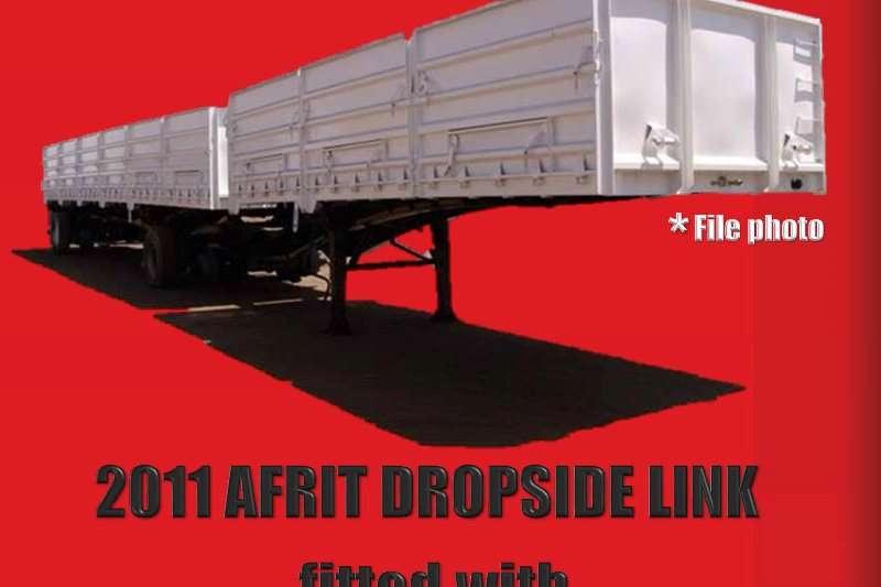 Trailers Afrit Afrit Dropside Superlink 2011