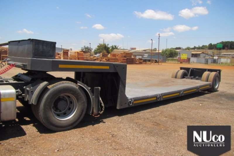 Afrit AFRIT SINGLE AXLE KICK OUT TRAILER Trailers