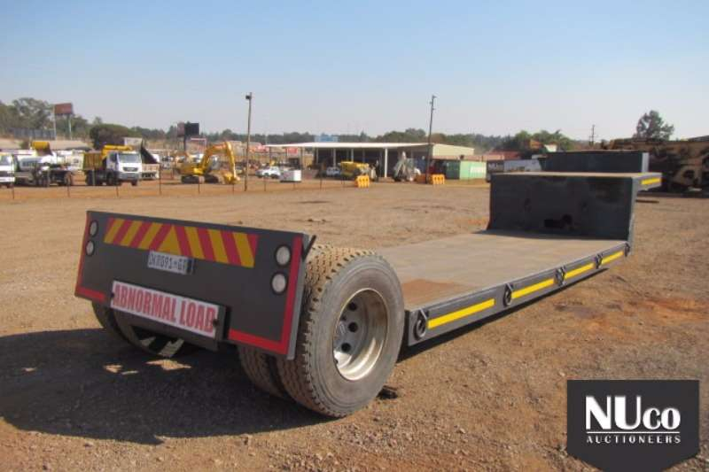 Afrit Afrit Single axle Kick out trailer DKR091GP Trailers