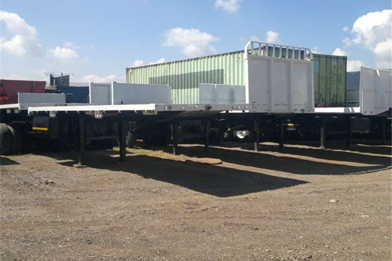 Afrit Curtain side Afrit Superlink flat deck Trailers