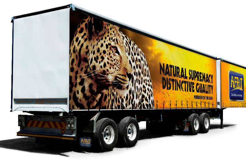 Afrit Curtain side For Rent Trailers