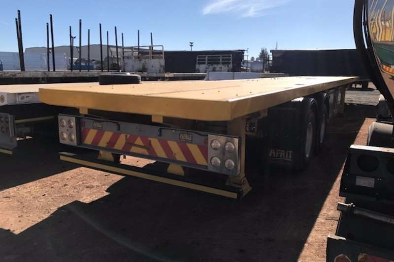 Afrit Double axle 15.7m Double Axle Flat Deck Trailers