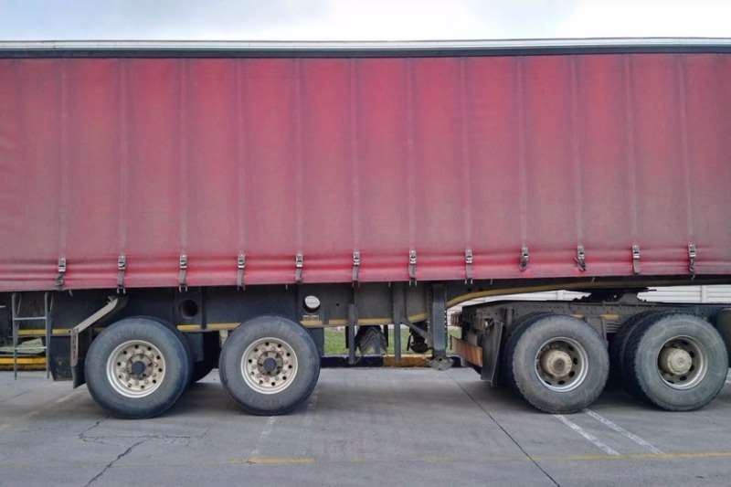 Trailers Afrit Double Axle Straight deck 2015