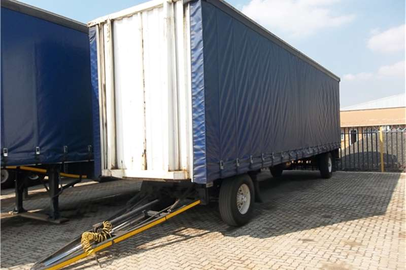 Afrit Drawbar TAUTLINER 2AXLE TRAILER Trailers