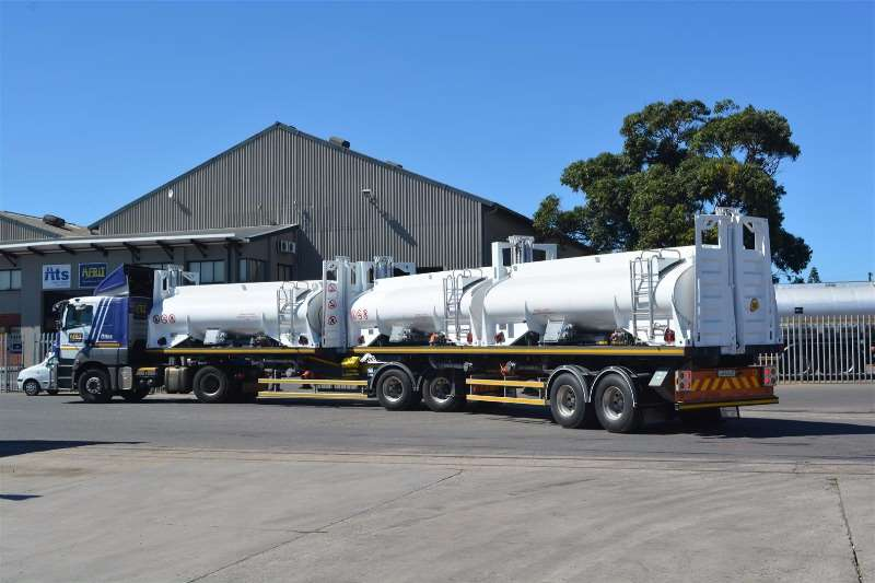 Afrit Fuel tanker (Demo Model) ReturnHauler Interlink Fuel Tanker Trailers