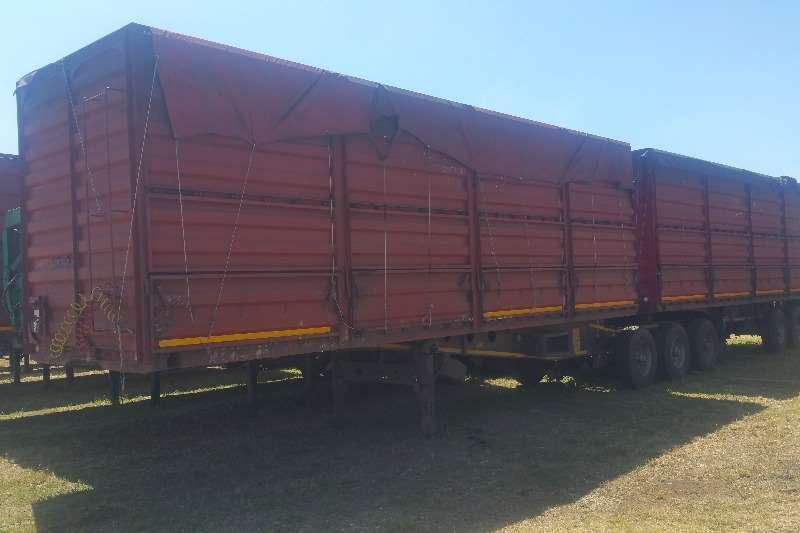 Afrit High sides Dropside interlink trailer Trailers
